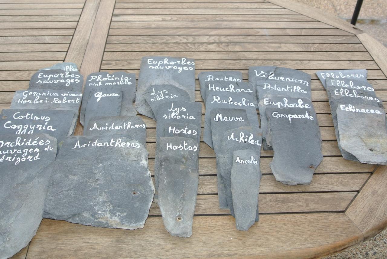 slate for my garden
