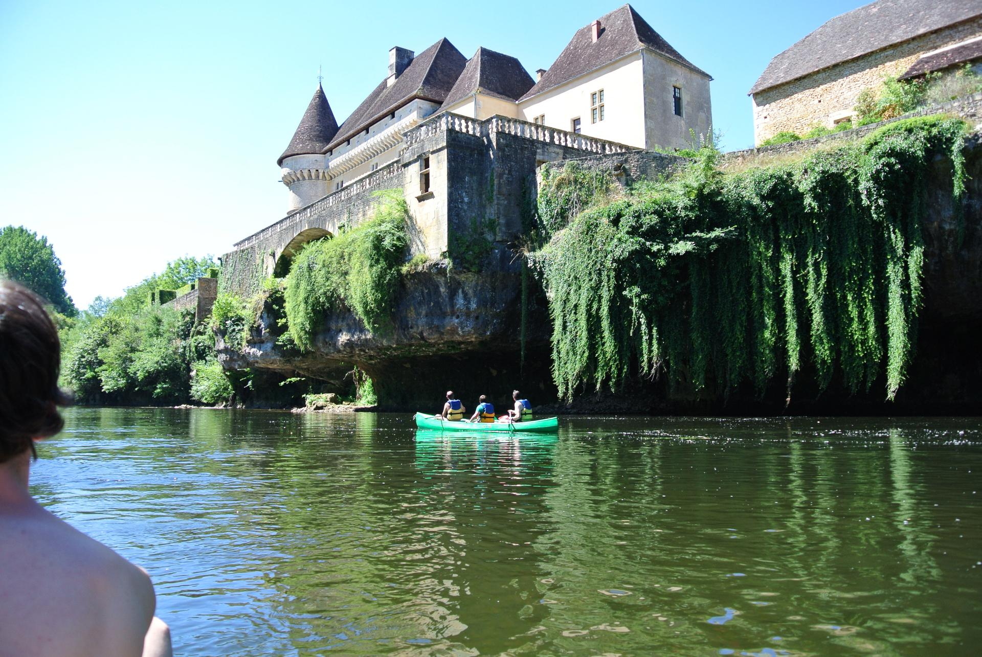 Canoe in the Vézère